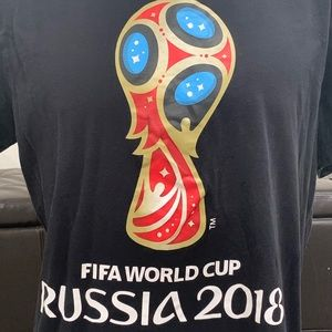 FIFA World Cup 2018 Russia Official Shirt XL
